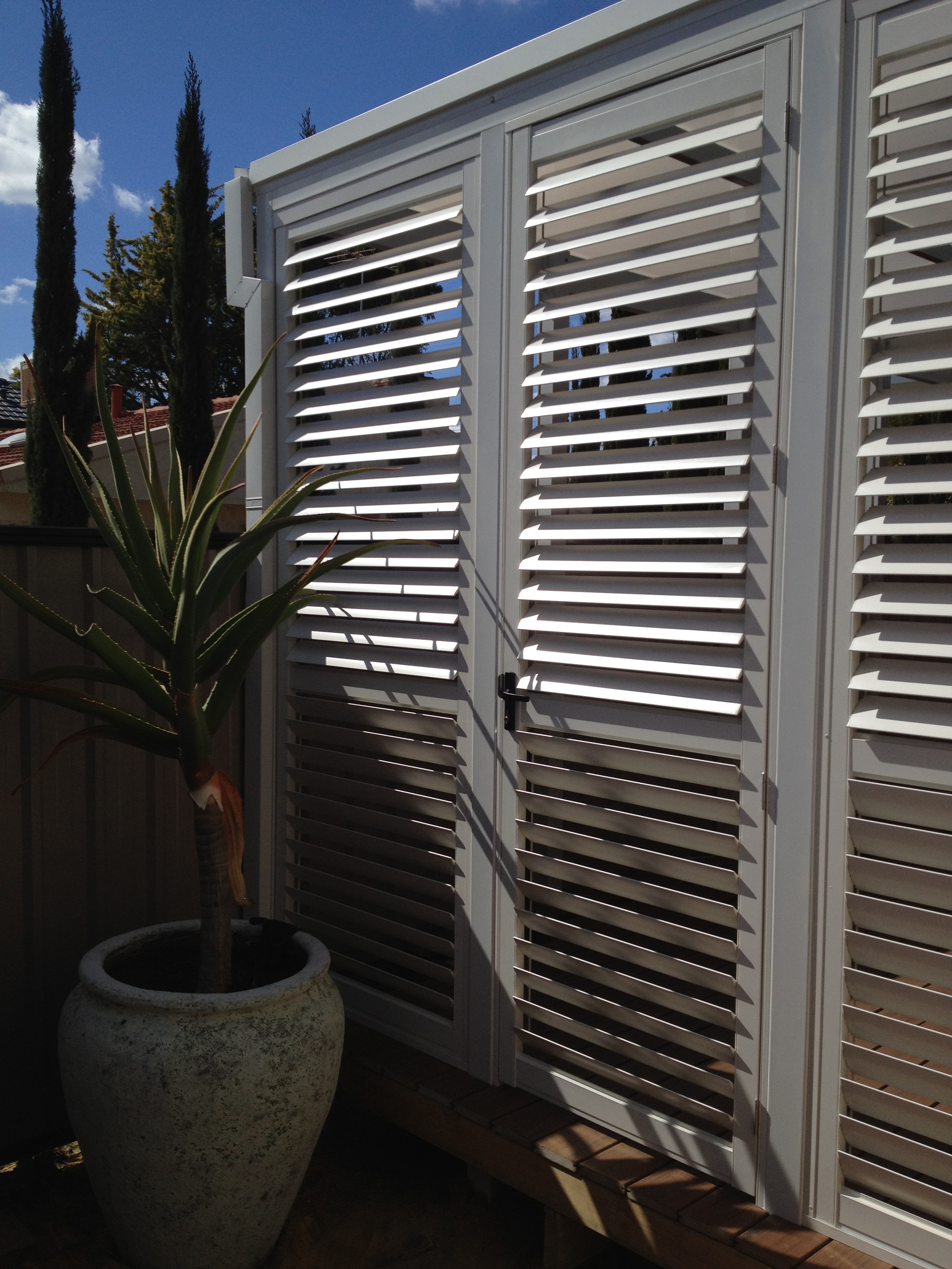 Outdoor shutters the best 28 images of exterior window for Outdoor furniture kawana